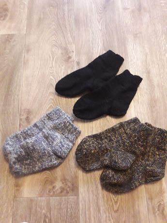 Красивые тёплые носки