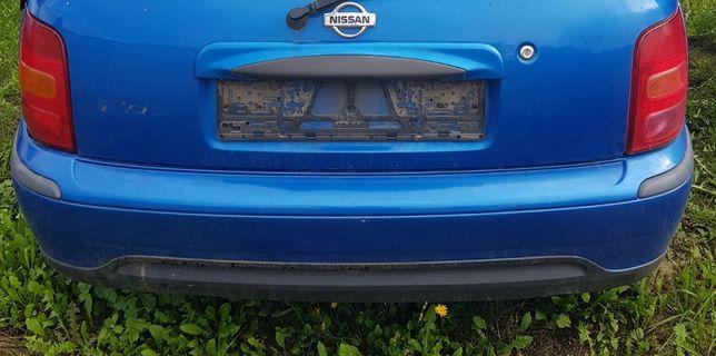 Zderzak Nissan Micra K 11 tył lift BV4 K