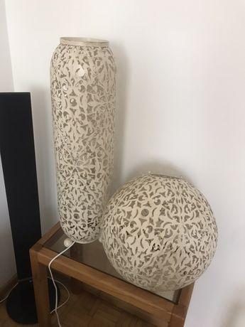 Lampa kremowa kula