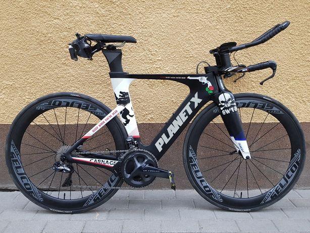 Rower Planet X Exocet 3 roz M carbon triathlon ULTEGRA 8050 di2 OKAZJA