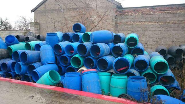 Beczki plastikowe nowe używane. Z atestem, FV, do ogórków