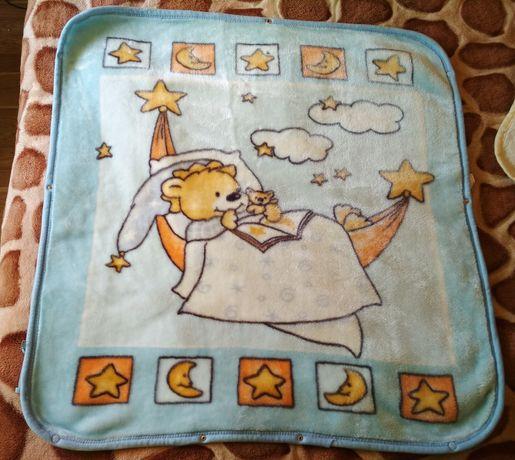 Детское одеяло, плед-конверт на выписку BABY SAС/ Дитяча ковдра