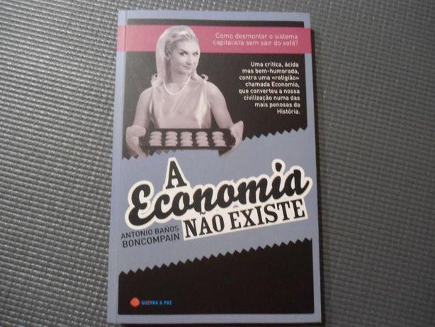 A Economia não existe de Antonio Baños Boncompain