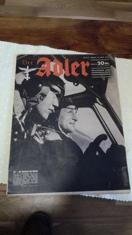 Stara gazeta Adler rzesza 1941