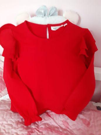 Bluzeczka KappAhl rozmiar 92 Czerwień