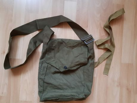 ZSRR,Rosja, torba po masce przeciwgazowej