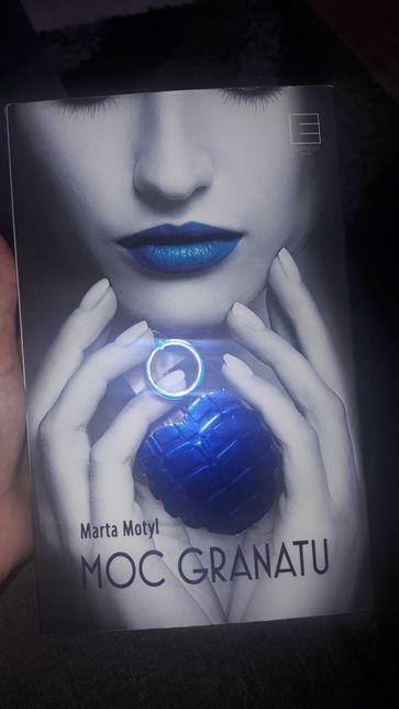 ksiazka moc granatu Marta Motyl
