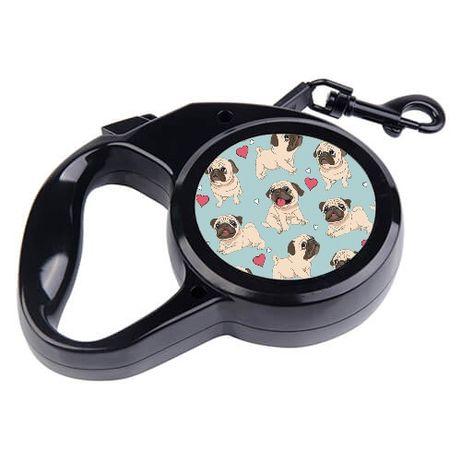 Smycz automatyczna dla psa 3 M 5m mops beagle Shiba inu