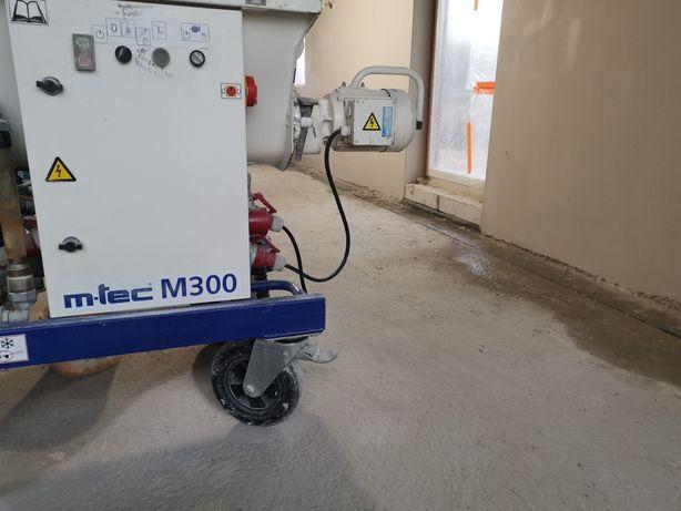 M-tec M300 agregat tynkarski Mtec/ chwilowa rezerwacja