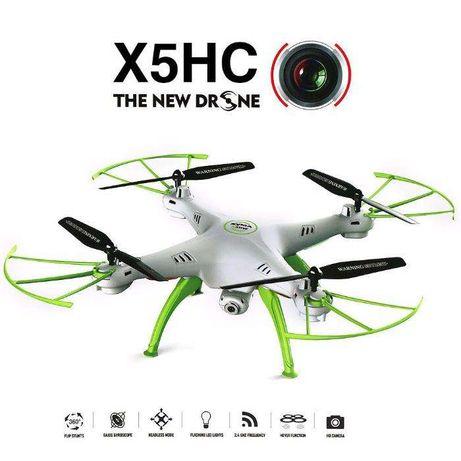 DRONE SYMA X5HC 2.4G -4 Canais com Gyro + Camera +4 GB SD