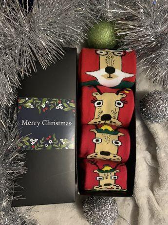 Фемелі лук, новорічні , новогодние носки,набор носков