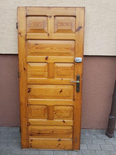 Drzwi Skrzydła Drewniane Filunkowe