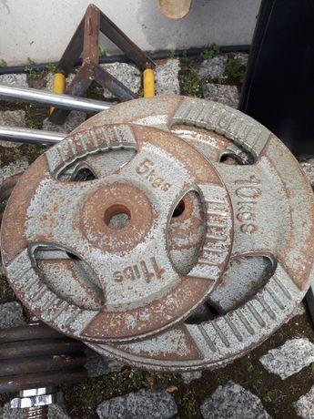Obciążenie żeliwne kierownice 2x5kg