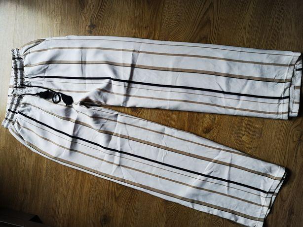 Spodnie luzne paski S/M