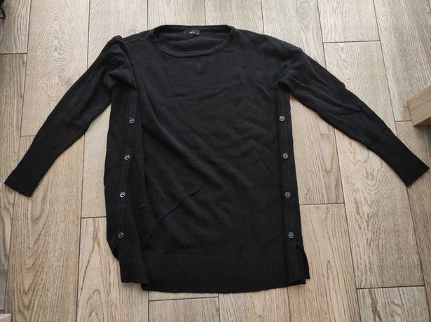 Czarny sweter rozmiar M