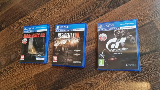 Gry PlayStation 4 vr resident evil here they lie ps4