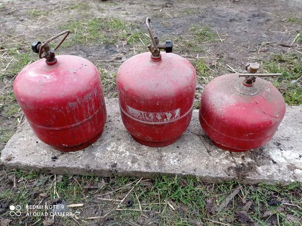 Butla gazowa turystyczna 3kg i 2kg