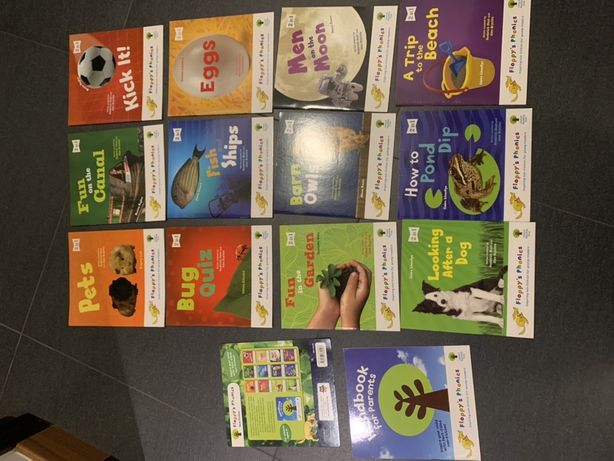 Angielski dla dzieci - ksiązeczki Oxford Floppy Phonics