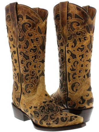 Женские ковбойские сапоги (USA)