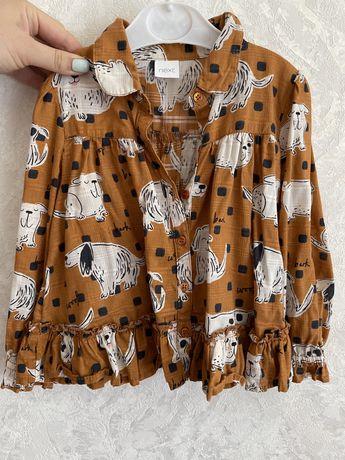 Рубашка- блуза next 92