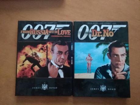 007 James Bond filmy dvd