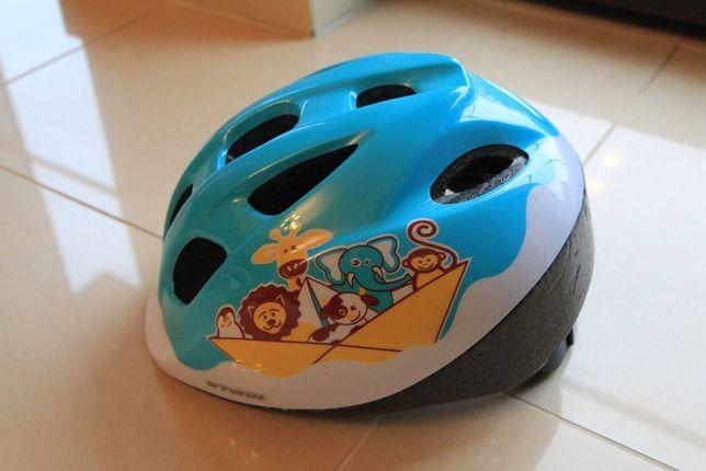 Kask rowerowy dziecięcy B'TWIN - DECATHLON rozmiar 46-53cm