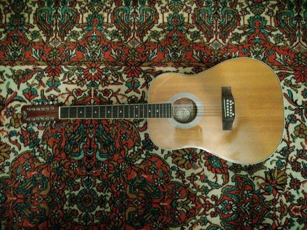 12-струнна акустична гітара