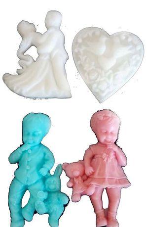 mydełka zapachowe podziękowania dla gości chrzest, ślób, roczek