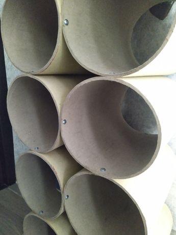 Картонна опалубка.Картонні труби діам 20 см різної довжини до 5 метрів