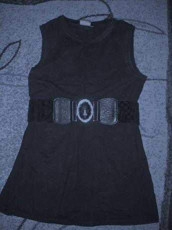 Czarna tunika sukienka ciązowa S bella mama