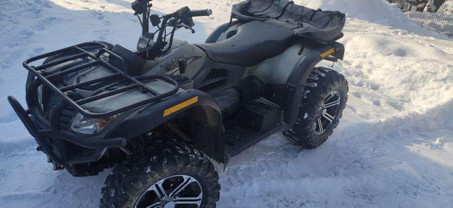 Keeway Leone 500cc Long 4x4 posiada HOMOLOGACJE
