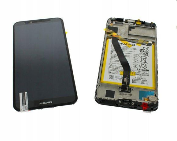 Oryginalny wyświetlacz HUAWEI Y6 P smart P10 P20 lite bateria wymiana
