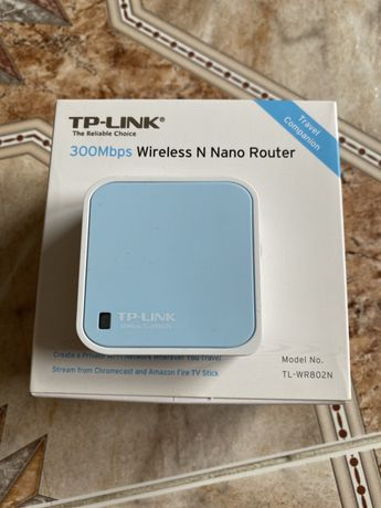 TP-LINK 300mbps Wireless N Nano Router