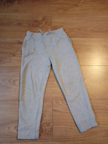 Spodnie dresowe szare joggery 104