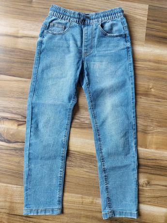 Spodnie jeansy reserved r.134
