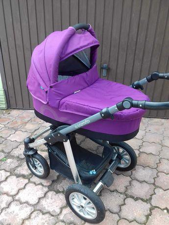 Wózek głęboko spacerowy Baby Design Lupo Comfort plus dodatki