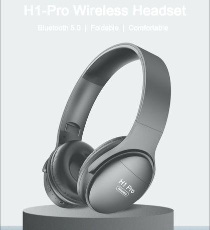Наушники-гарнитура PTM H1 PRO Bluetooth 5.0 , складные.