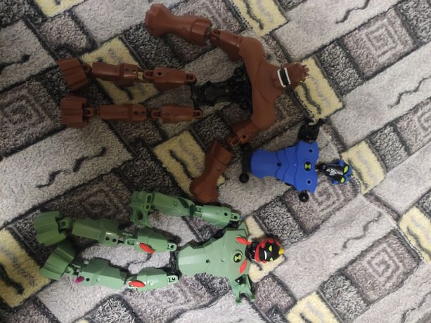 Робот Лего, фигурки ben 10, bionicle