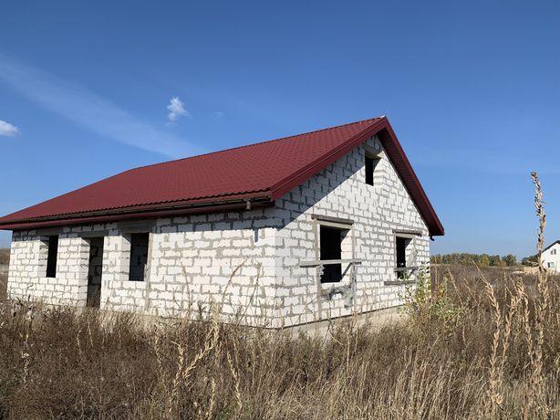 Дом который строился для себя Здоровка р.Стугна и лес