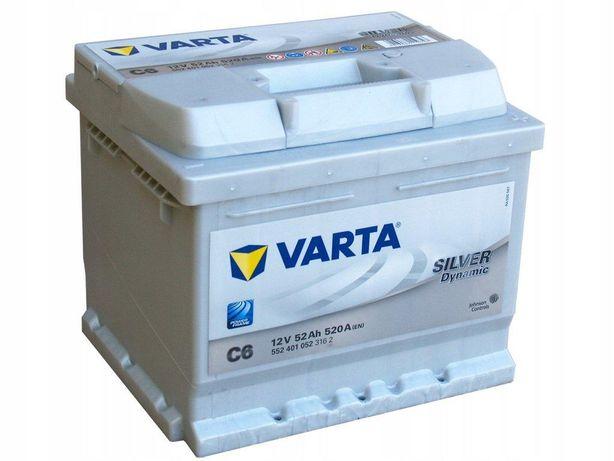 Akumulator Varta Silver Dynamic C6 52Ah/520A