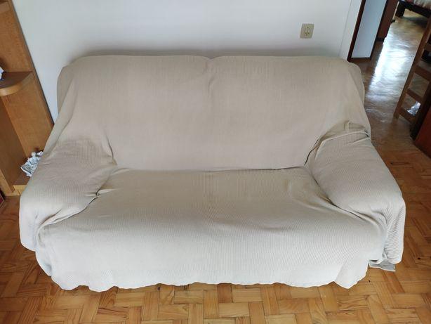Recheio de casa - Sofá-cama de 2 lugares