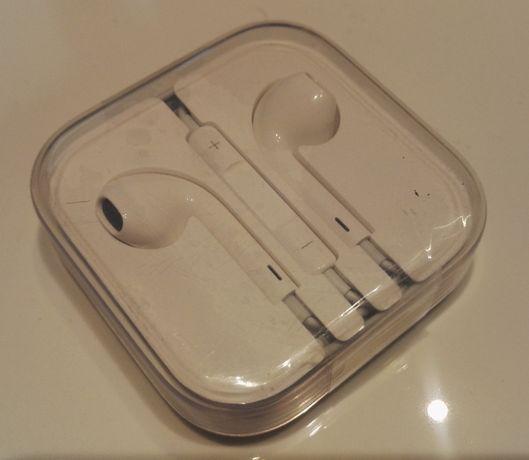 Oryginalne słuchawki Apple EarPods MD827ZM/B białe