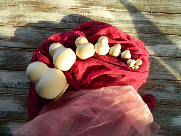 Заготовка матрешки 10-местная пузатая из липы