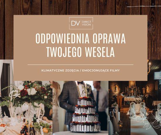 Fotograf ślubny / Kamerzysta na Twoje wesele / Dron / 4K / Atrakcje