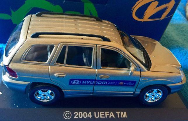 Coleccionável Hyundai Santa Fé EURO 2004 Patrocinador Oficial