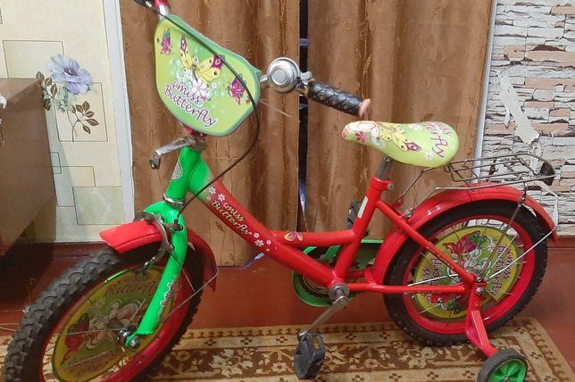 "Велосипед детский Miss Butterfly 16"""