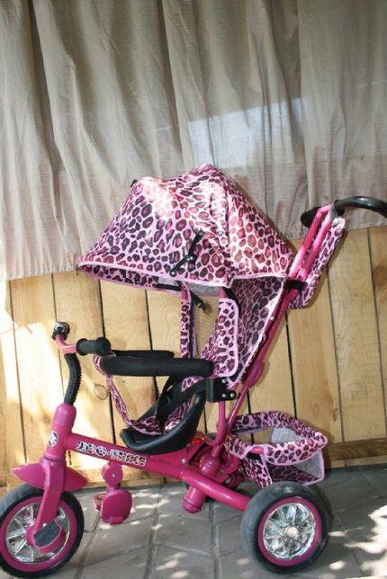 Трехколесный велосипед для девочки