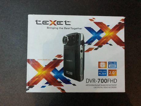 Новый видеорегистратор TeXet DVR-700FHD