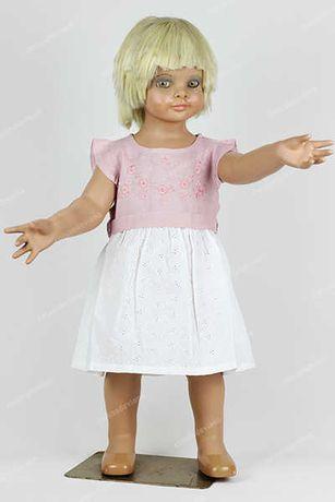 Vestido criança bordado Viana feito à mão - Genuínos