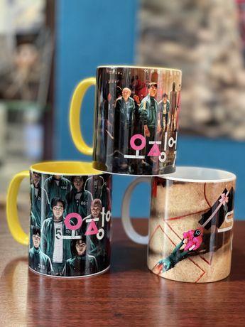 Чашки Игра в Кальмара